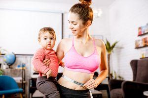 ¿Cómo bajar de peso después del parto?