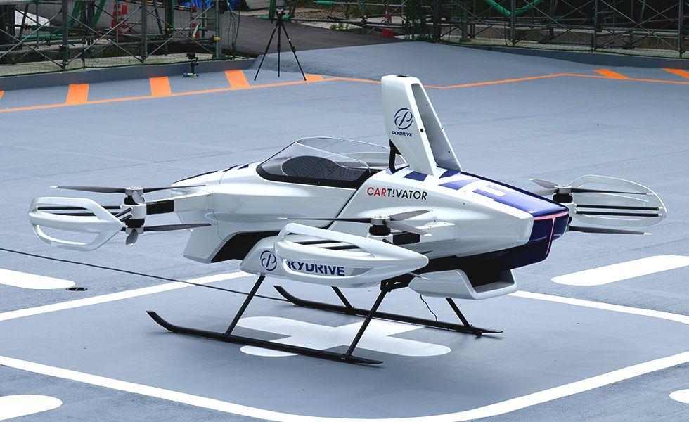 SkyDrive SD-03. / Foto: Cortesía SkyDrive Inc.