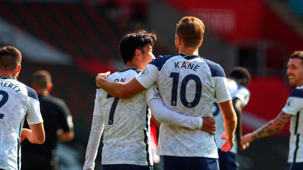"""Son y Kane completaron un triunfo memorable para los """"Spurs""""."""