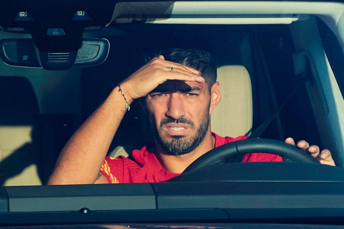 Luis Suárez se despidió de sus compañeros en el Barcelona.