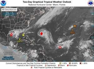 Tormenta Beta se acerca a la costa de Texas. Se prevé que toque tierra este lunes