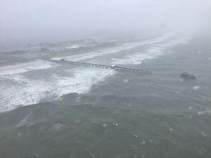Catastróficos efectos de huracán Sally se extenderían hasta el viernes por Georgia y las Carolinas