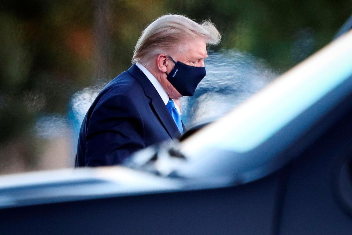 Trump cambia de tratamiento contra el coronavirus estando en el hospital, de Regeneron pasa a Remdesivir