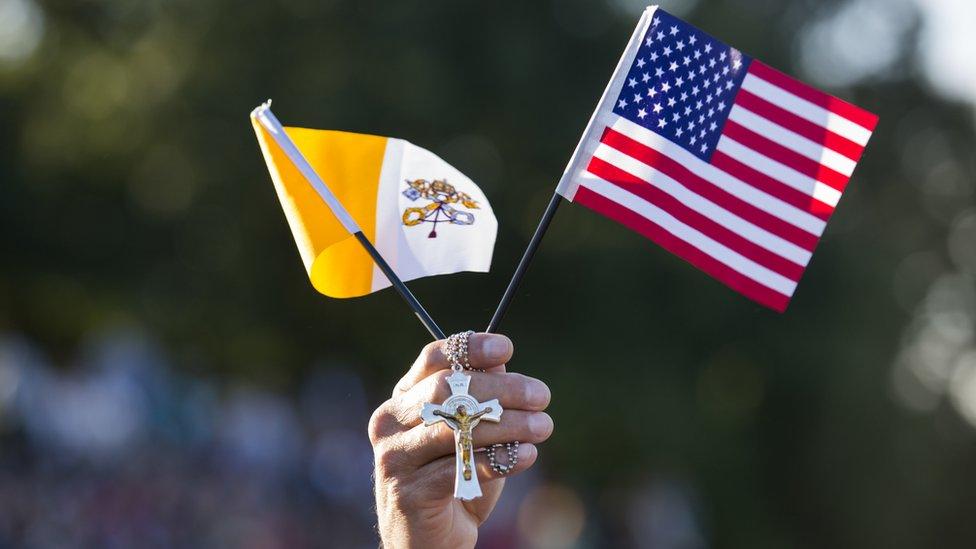 Los católicos son cerca de 20% de la población de EE.UU.