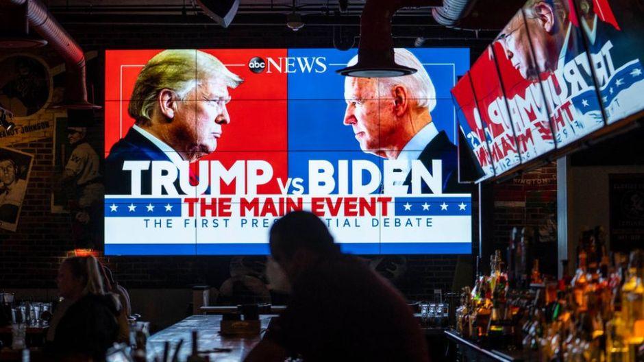 Lo que el caótico debate entre Trump y Biden muestra sobre el deterioro político de EE.UU.