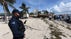 """Huracán Delta amenaza México: el """"extremadamente peligroso"""" ciclón sube a categoría 4 y se dirige a Yucatán"""