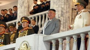 El sorprendente misil que Corea del Norte presumió en su desfile militar