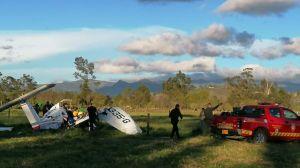 Bebé sobrevive de milagro tras impactante caída de avioneta en Colombia