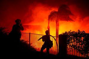 Lo último acerca de los dos incendios del sur de California: Silverado Fire y Blue Ridge Fire