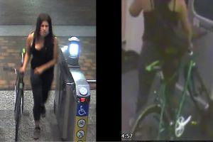 Imágenes: Buscan a la mujer que mató a puñaladas a empleado del metro de Los Ángeles