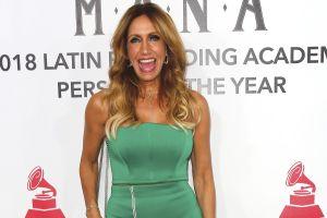 Lili Estefan admite que se cree Ana Bárbara e intercambia mensajes de amor con la cantante
