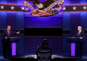 Trump y Biden discuten sus propuestas electorales en un debate presidencial con reglas estrictas