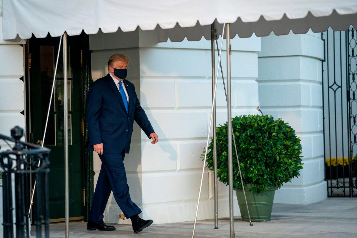 El mundo reacciona al diagnóstico de coronavirus del presidente Trump