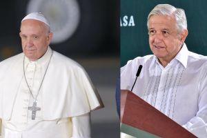 AMLO vuelve a exigir disculpa a papa Francisco por Conquista a pueblos indígenas