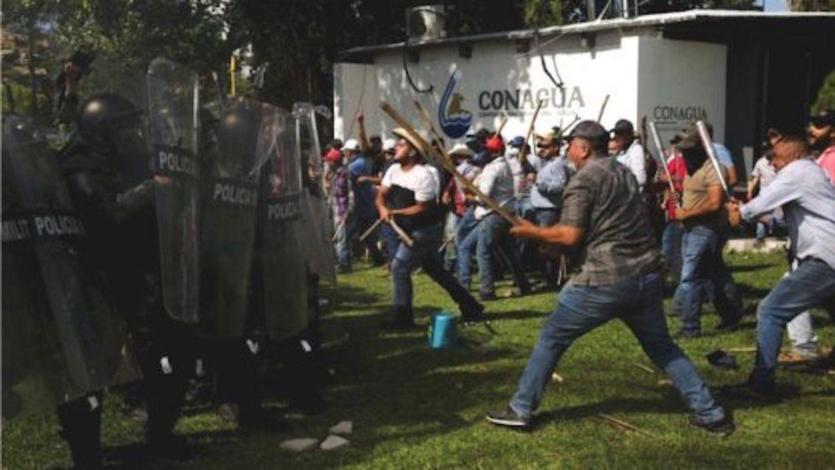 La nuez de la discordia en el conflicto de agua entre México y EE.UU.