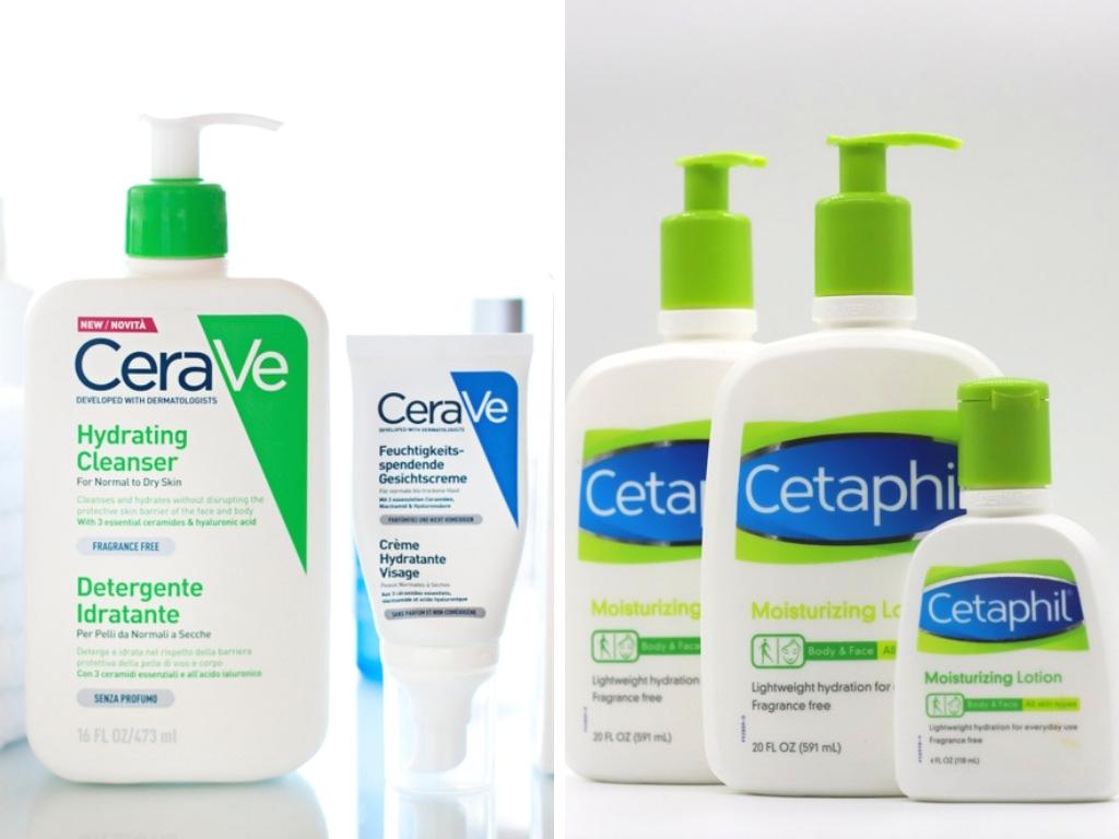 Cerave o Cetaphil: ¿Cuál marca ofrece los mejores productos para la piel?