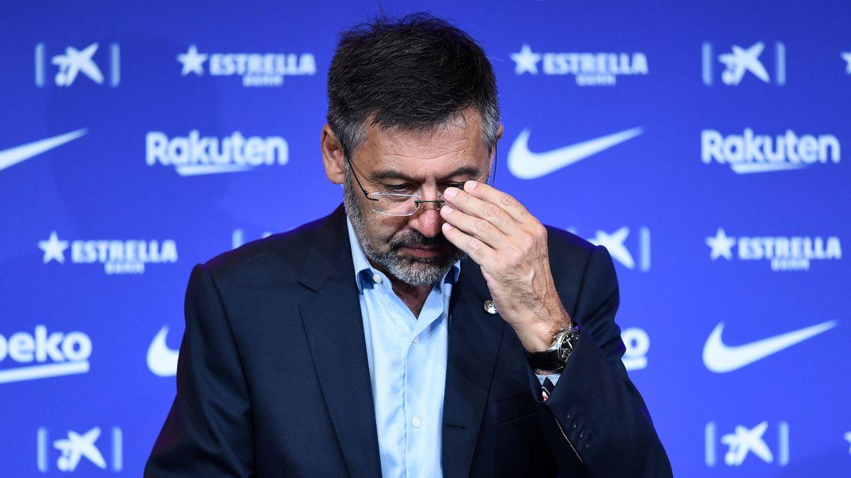 Escándalos, deudas y malos resultados: El paso de Bartomeu al frente del Barcelona