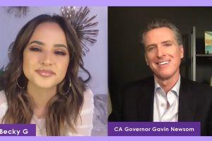 'Plática' con el gobernador Newsom sobre el voto juvenil y COVID-19