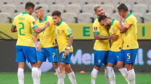 Brasil hace pedazos a Bolivia y lo golea 5-0