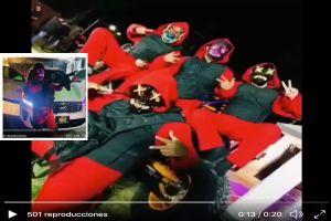 Cártel del Noreste en fiestas y armados, así se muestran en fotos y videos