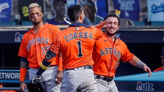 Carlos Correa playoffs