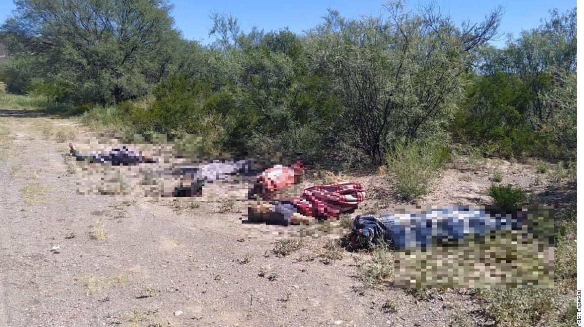FOTOS: Torturan y matan a 6, los dejan tirados envueltos en cobijas