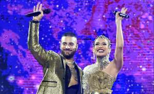 Maluma y Jennifer López enamoran Hollywood a través de su música