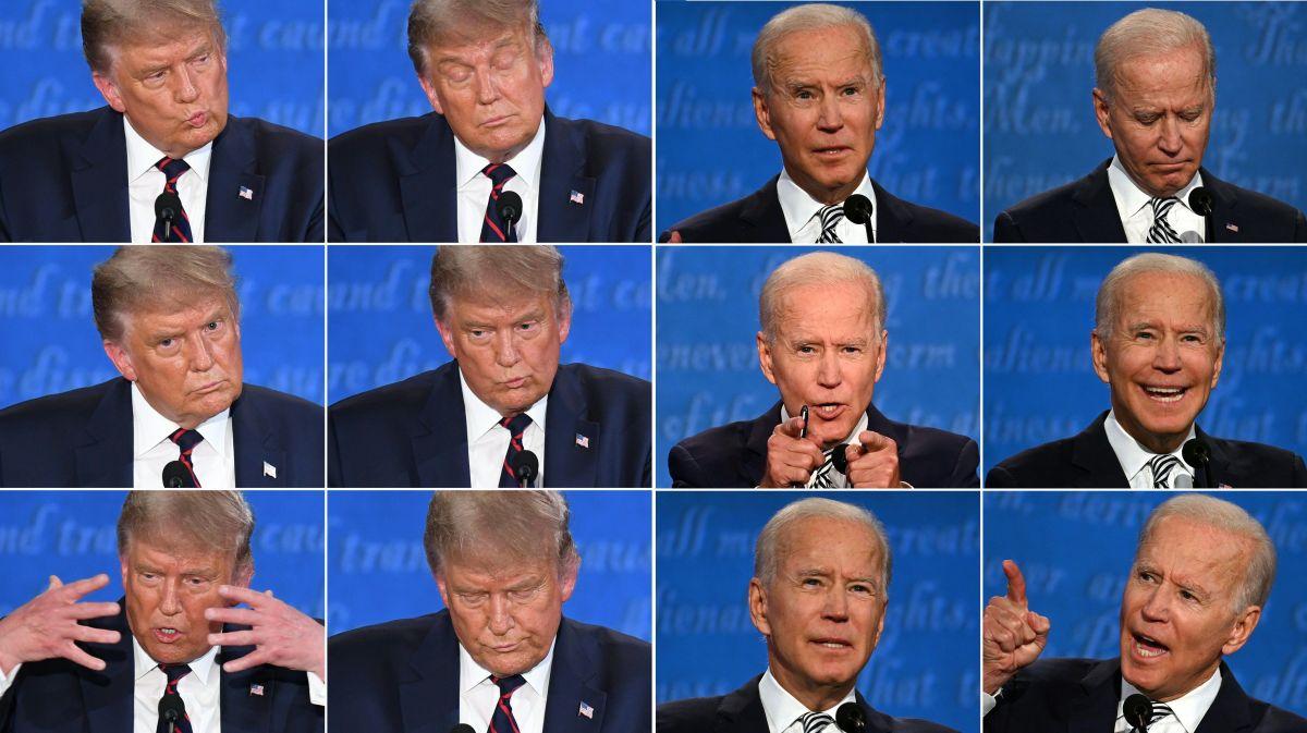 El debate presidencial fue calificado como un caos.