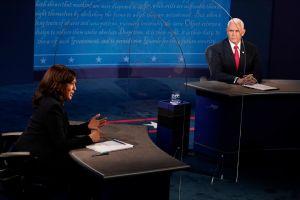 El único momento en que latinos fueron mencionados en debate entre Harris y Pence