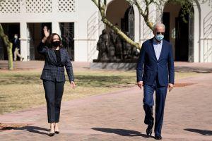 Pence llegó a Arizona el mismo día que Biden y Harris. Ambas campañas buscan conquistar un estado clave