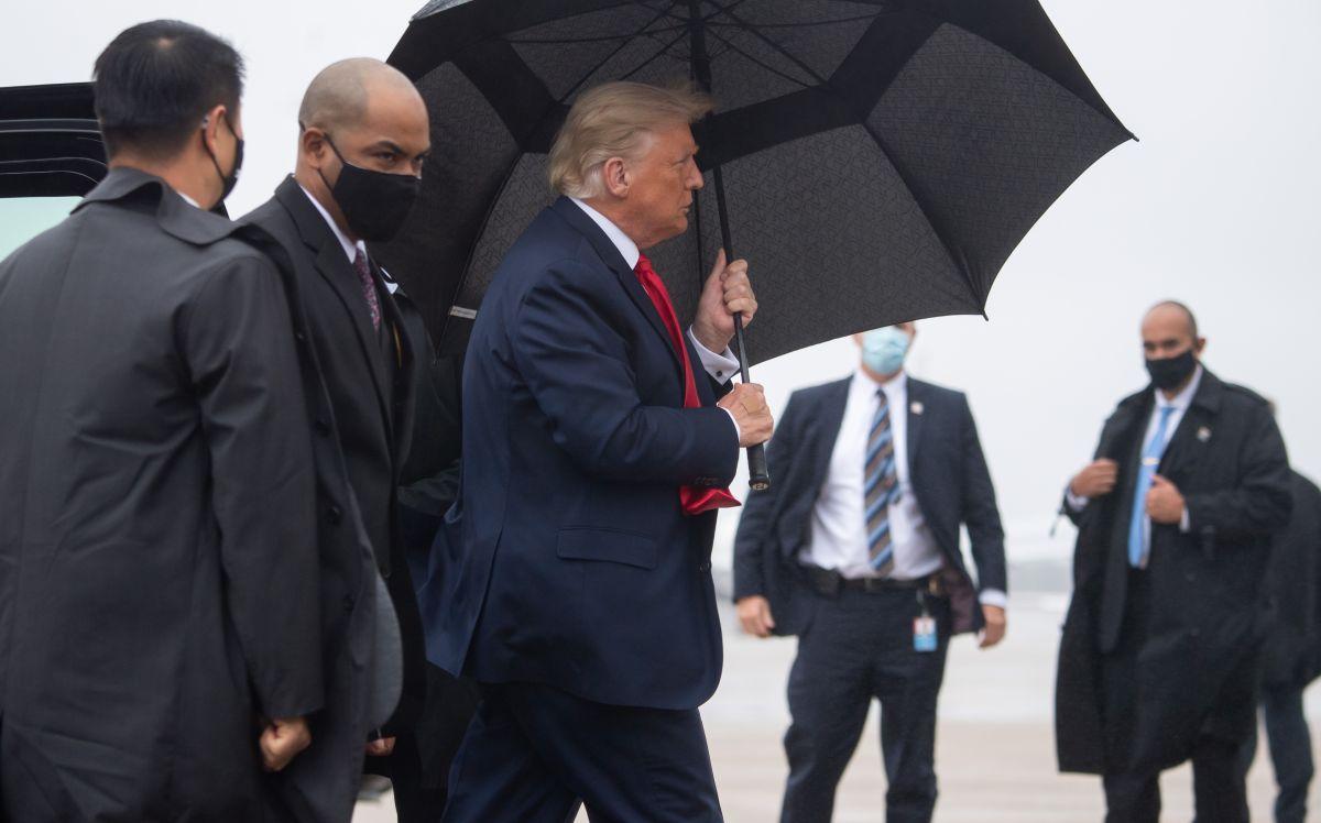 """Trump da negativo por coronavirus """"en días consecutivos"""", según el médico de la Casa Blanca"""