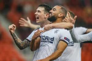 VIDEO: El increíble gol de media cancha que le dio la victoria a Rangers en la Europa League