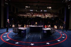 Comienza el debate vicepresidencial entre Harris y Pence con estrictas medidas sanitarias y de seguridad