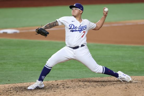 Julio Urías, Mexican pitcher for the Los Angeles Dodgers.