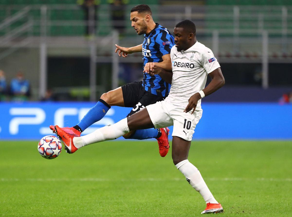Futbolista del Mönchengladbach se buscó en google para que lo dejaran entrar al estadio del Inter