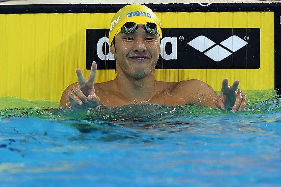 Daiya Seto, estrella japonesa de la natación.