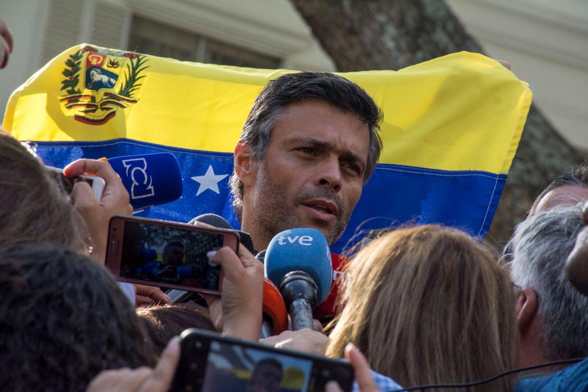 """Leopoldo López: """"La tragedia de Venezuela tiene un nombre: Nicolás Maduro"""""""