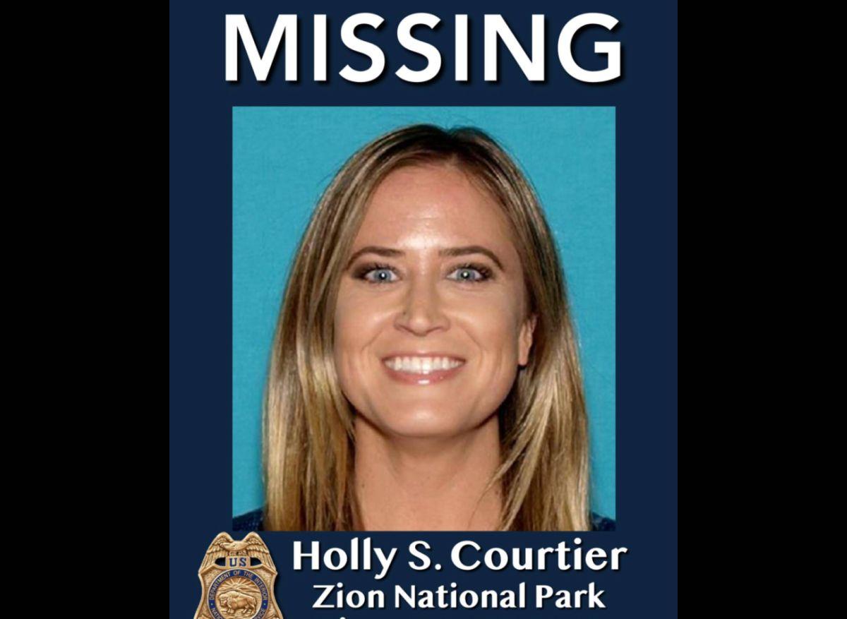 Holly Suzanne Courtier quería visitar varios parques nacionales.