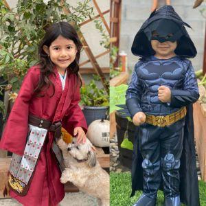 Padres angelinos adaptan Halloween a la nueva normalidad