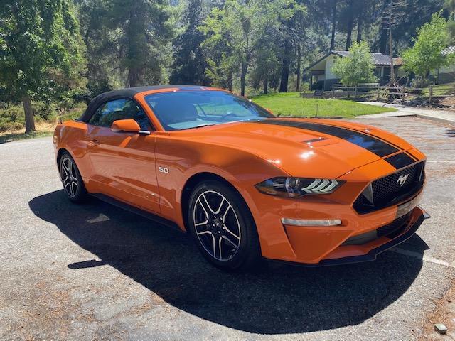 Mustang GT Premium 2020 convertible.