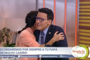 Raúl González regresa a 'Despierta América' después de la muerte de su padre
