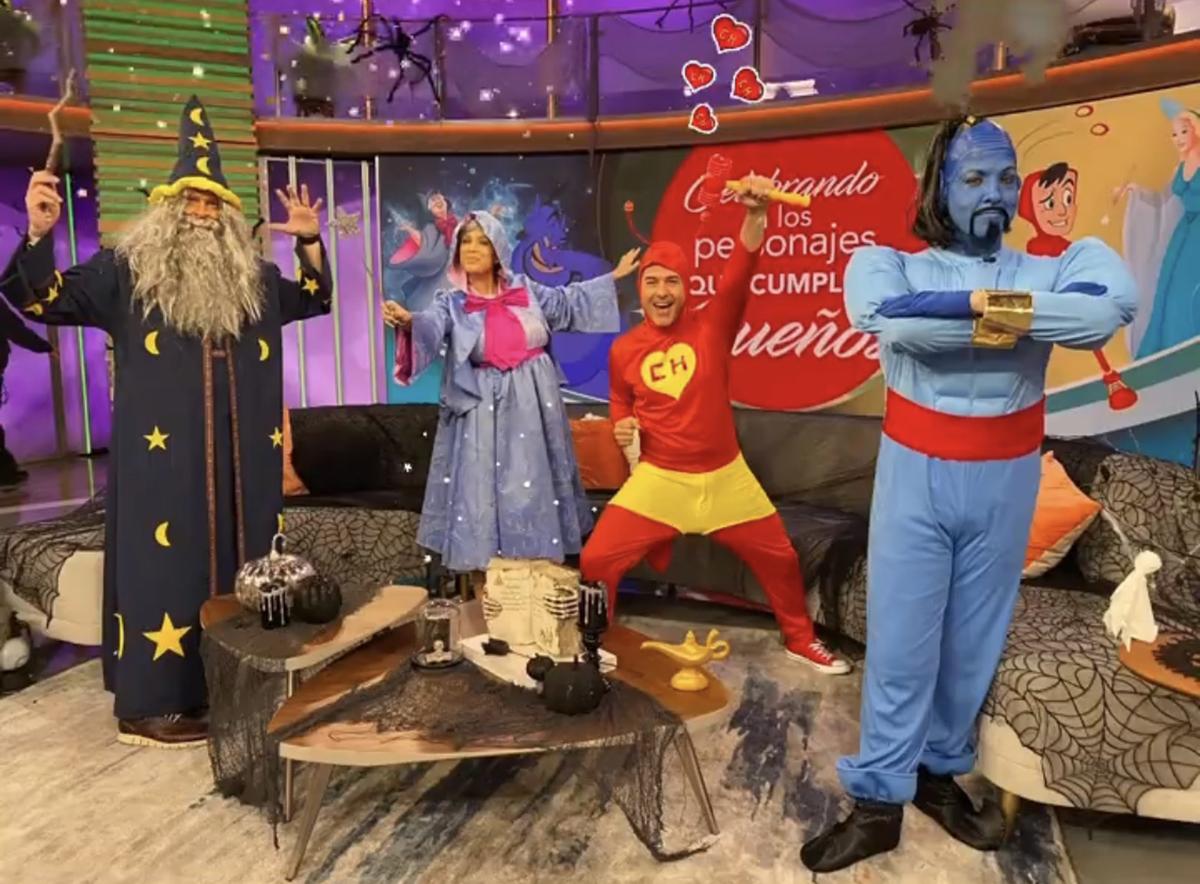 'Despierta América': Halloween se transformó en personajes de esperanza