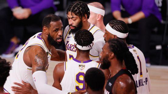Lakers campeones Heat