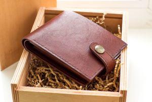 Ideas de regalos: Billeteras de piel para hombres
