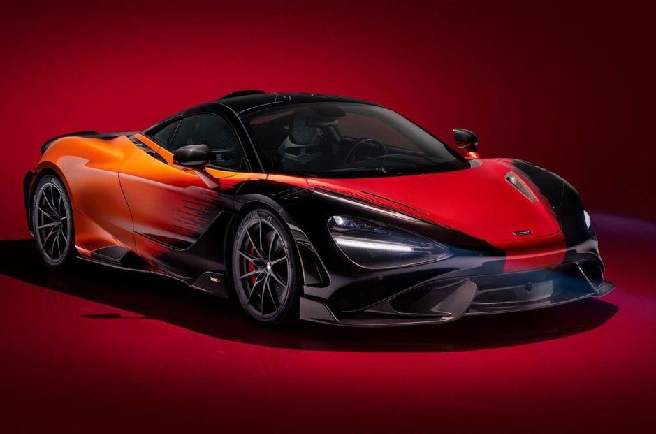 McLaren 765LT Strata Theme: único y a pedido