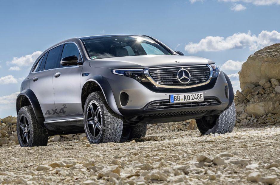 El SUV ecólogico que se atreve a todo: Mercedes-Benz EQC 4×4²