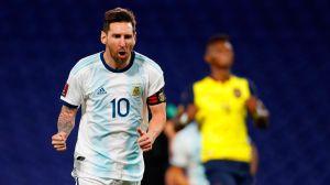 ¡Gol de Messi! El argentino volvió a aparecer con la Albiceleste y ganan a Ecuador