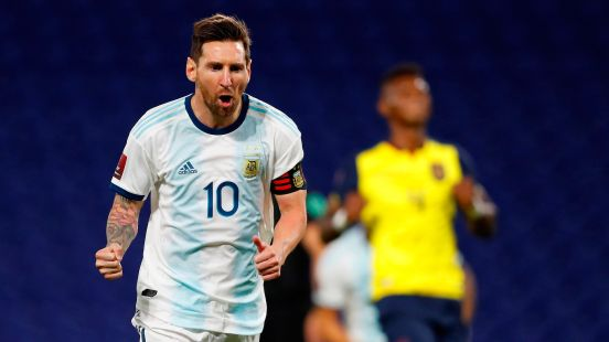 Messi, selección argentina, Ecuador