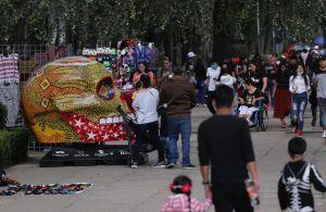 CDMX retira Mexicráneos, visitantes no respetaron medidas sanitarias
