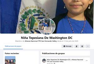 """Una """"candidata"""" de 10 años que aboga por los inmigrantes"""
